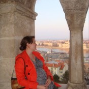 A trip to Budapest while 8 months pregnant with Little Elephant