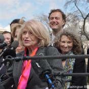 TGIF Video Moment: Edie Windsor on the SCOTUS Steps
