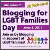 Blogging for LGBT Families Day is Coming!