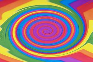 Swirly Bi Paint