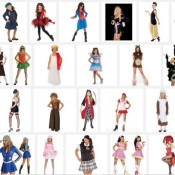 Where are the non-sexy girl Halloween costumes?