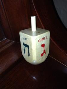 Chanukah dreidl