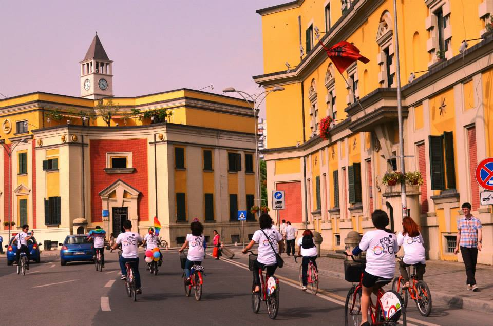 "<span style=""color: #888888;"">Albania Gay Ride Against Discrimination (May 2013) </SPAN>"