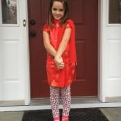 My fancy daughter.