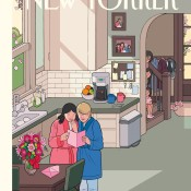 Happy Mothers' Day, by Chris Ware, May 13, 2013. [PHOTO CREDIT: THE NEW YORKER]