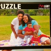 Seattle Lesbian & Gay Childcare Taskforce Puzzle. [PHOTO CREDIT: Polly Pagenhart]