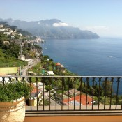 Villas on Italy's Amalfi Coast are renowned for their views. Photo by Alan J. Shannon.