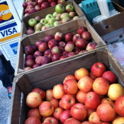 Farmer's markets often offer more variety and fresher produce than grocery stores.