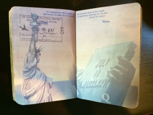 The visa pages in your passport serve a purpose