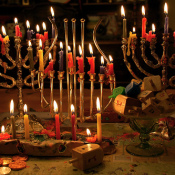 The Blazing Fire: LGBT Jewish Identity on Hanukkah