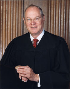 SCOTUS Justice Kennedy (Photo Credit: wikipedia)