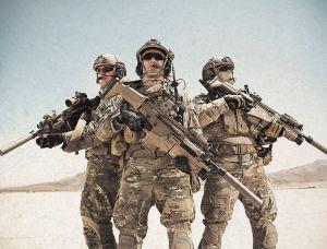 US Air Force trio