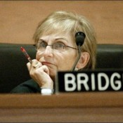 Former Washington State Supreme Court Justice Bobbe Bridge. Photo creidt: Mike Urban/Seattle Post-Intelligencer
