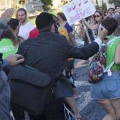 Schlissel stabs a marcher at the Jerusalem Pride March (Photo: CNN)
